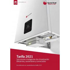 Tarifa Catálogo Saunier Duval 2021