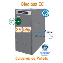 Calderas de Pellets BioClass IC 25 kW. Domusateknik TBIO000124