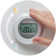 Y87RFC2066 termostato inalámbrico de ambiente. Honeywell.