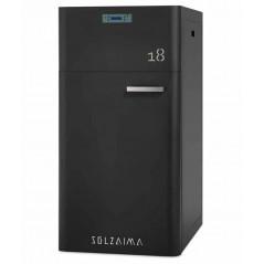 Caldera pellets SZMA 18 kW limpieza automática radiadores Solzaima