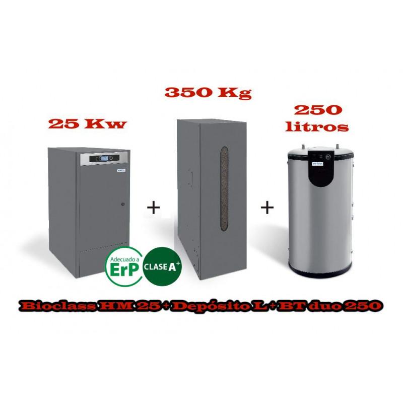 PACK UNIT BC 25 KW BT DUO 250 LITROS