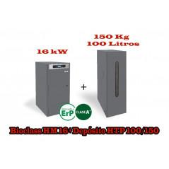 PACK UNIT BC 16 KW HTP 100 LITROS 150 KG.