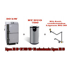 PACK UNIT LG 30 KW y  BT DUO 750 litros