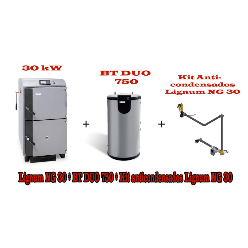 PACK UNIT LG 30 KW y  BT DUO 750 litros