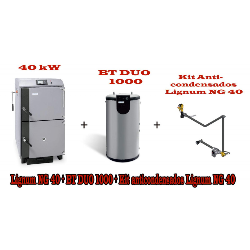 PACK UNIT LG 40 KW y  BT DUO 1000 litros