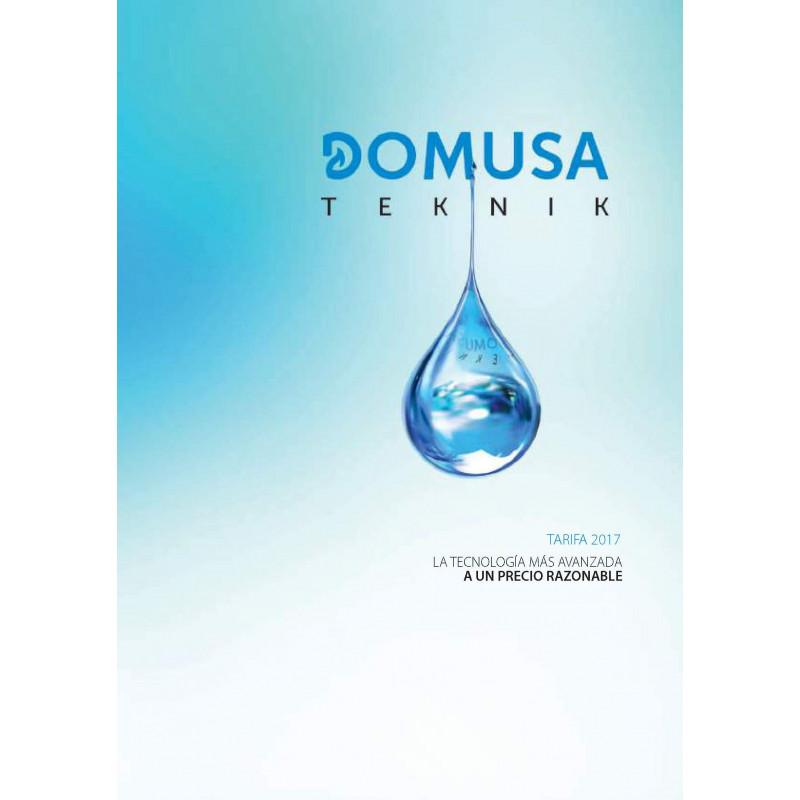 Tarifa Domusa Teknik 2017 Válida para el 2018