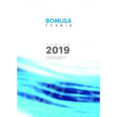 Tarifa Domusa Teknik 2017 Válida para el 2019