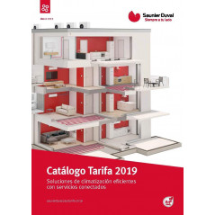 Tarifa General Saunier Duval 2019: Productos de Energías Renovables